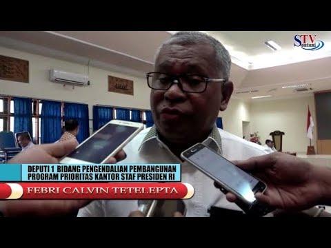 Rapat Pemerintah Kabupaten Jayapura Bersama Staf Kepresidenan.