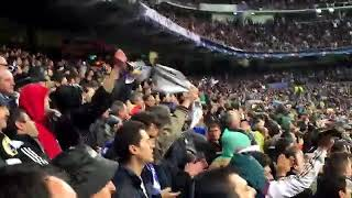 Gemuruh SANTIAGO BERNABEU goal Cristiano Ronaldo vs Wolfsburg UCL 2016 Epic Comeback