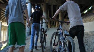 Mountain Biking at UW (& Colonnade) with Simon Fox