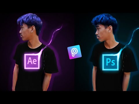 Cara Edit Foto Neon Photoshop Icon Effect di PicsArt ...