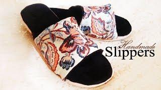 Handmade Slippers / diy slippers