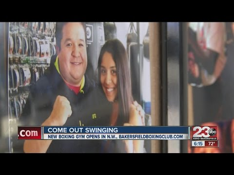 Bakersfield Boxing Club opens in Northwest, Olympic hopeful trains clients to get in shape