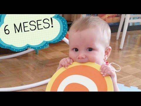 Actividades beb 6 a 8 meses estimulaci n temprana youtube - Bebe de 6 meses ...
