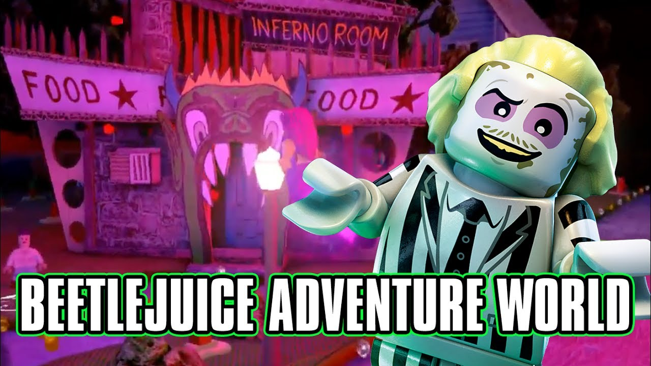 Fun Pack-Beetlejuice//VIDEO GAME TOY LEGO le dimensioni