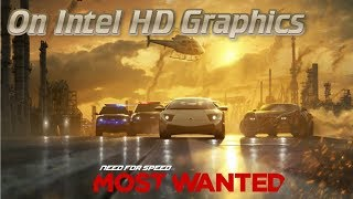 NFS Most Wanted 2012 on Intel HD Graphics & Celeron 1000M [HD]