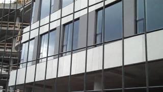 Ductal cladding - uhpc precast panels.