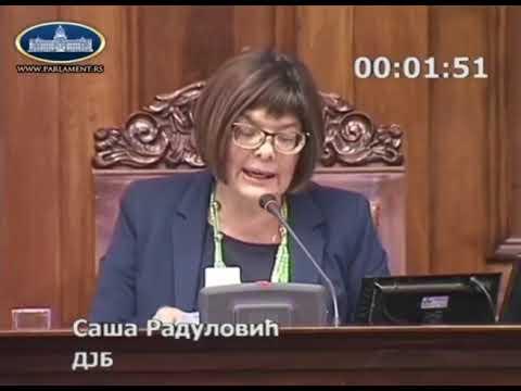Maja Gojković oduzela reč Saši Raduloviću da ne bi pričao o besplatnim udžbenicima