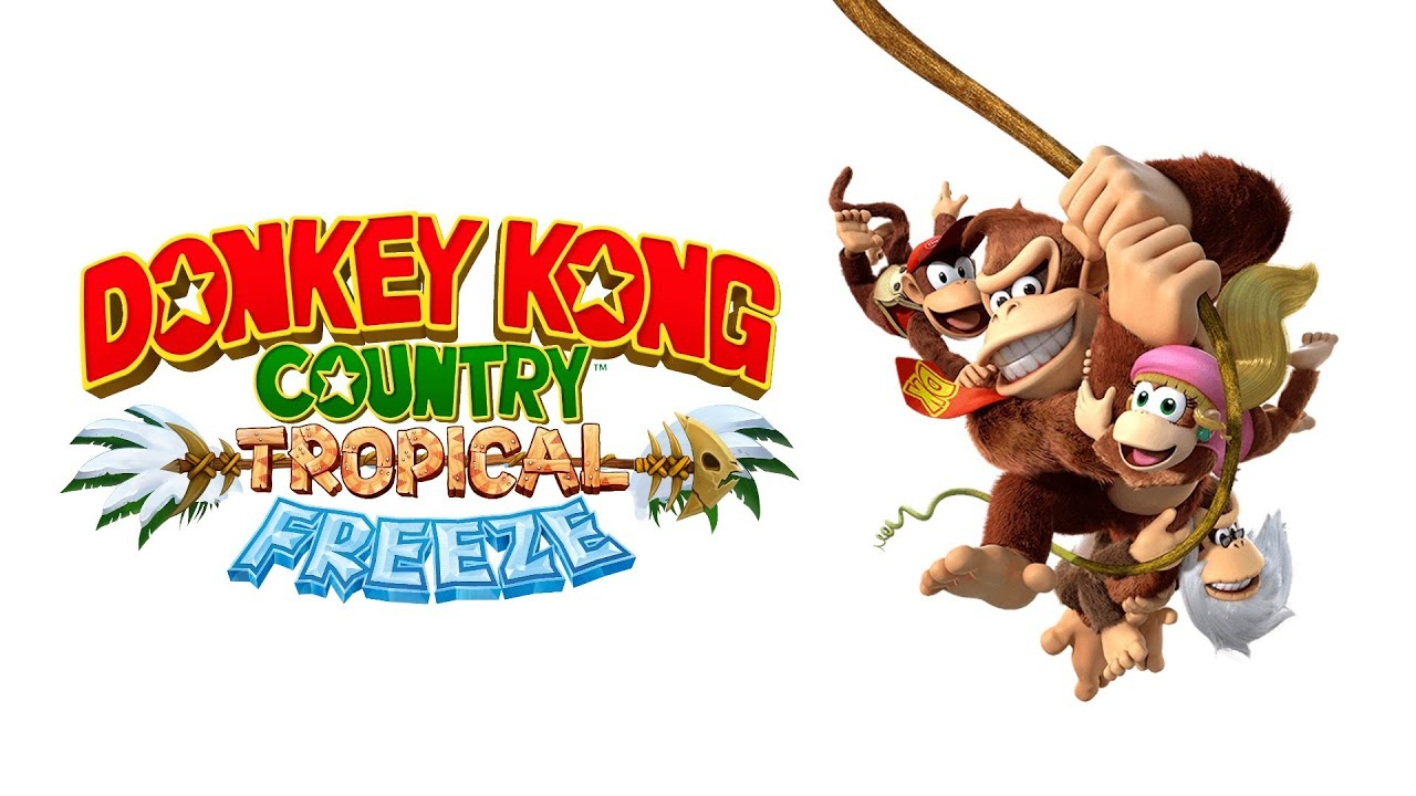 DONKEY KONG COUNTRY TROPICAL FREEZE - Gameplay do Início ...