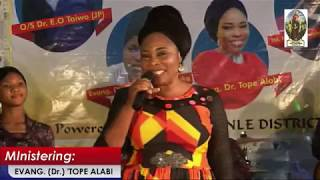 EVANG  Dr  TOPE ALABI JP  TACN AJEGUNLE DISTRICT IPOKIA AREA