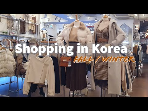 Shopping in Korea, Fall / Winter Clothes 2020 + Try On