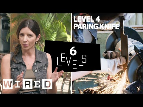 6 Levels of Knife Making: Easy to Complex | WIRED