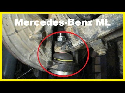 Mercedes ML W163 Tensioner Pulley and Idler Pulley Remo