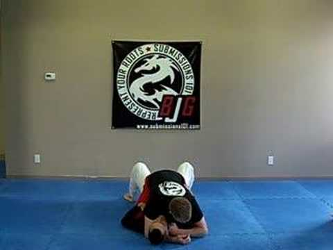 Knuckle Choke (nogi) from Mount
