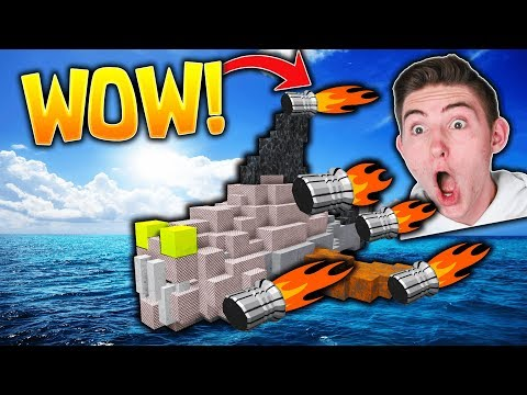HUGE SHIP HELPS US FIND GOLD! Build A Boat For Treasure!