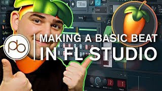 How to Make A Basic Beat In FL Studio with Tom Budin