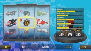 Mario Kart 8 Deluxe All Vehicle Parts
