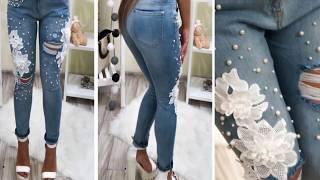 Как джинсы подшить и ушить,заштопать дырки своими руками