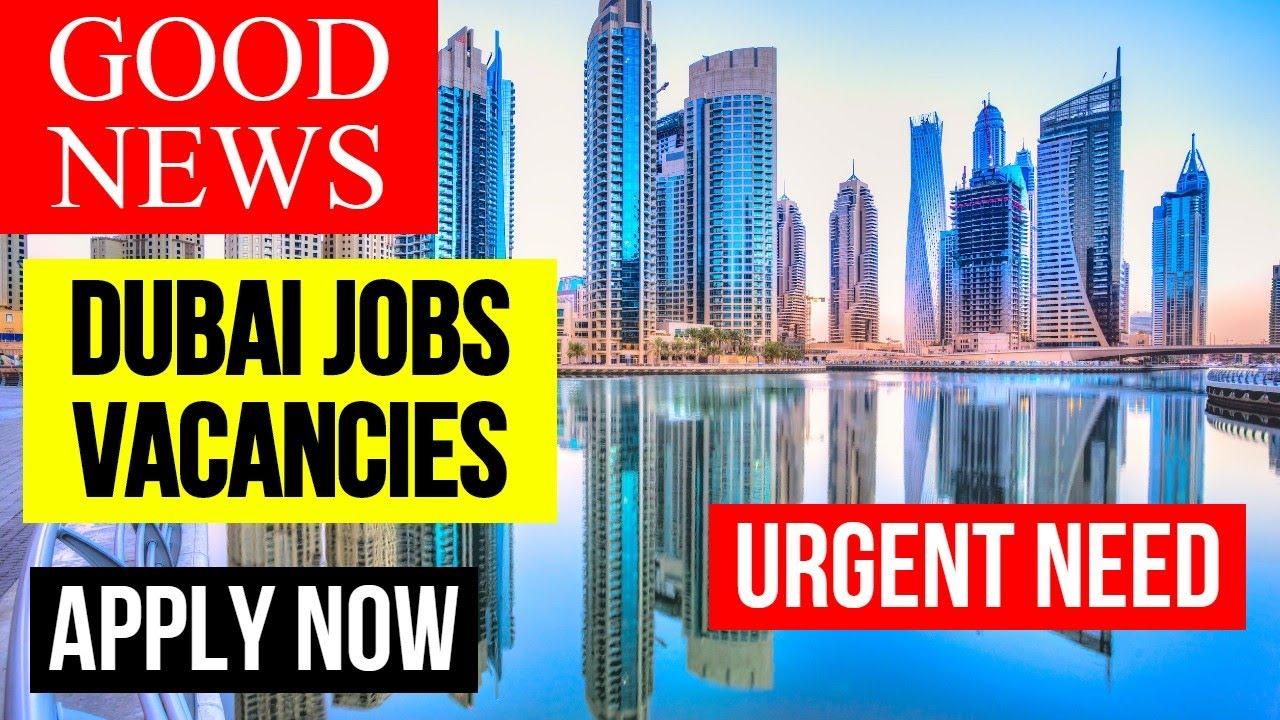 Good News!! Jobs in Dubai For Locals || Dubai Jobs 2020 || Jobs in Dubai 2020 || Apply Now