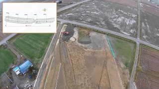 北海道縦貫自動車道 士別市 川西改良外一連工事