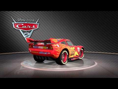 "Cars 2: Turntable ""Lightning McQueen"""