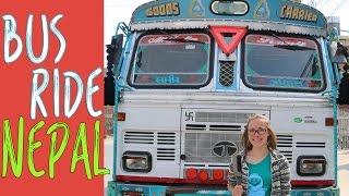 Nepal Bus Ride - Tatopani to Beni - Annapurna Circuit Trek