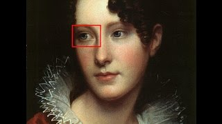 1807 A Strange White Light in his Eyes (Rembrandt in Suspicion) 目...