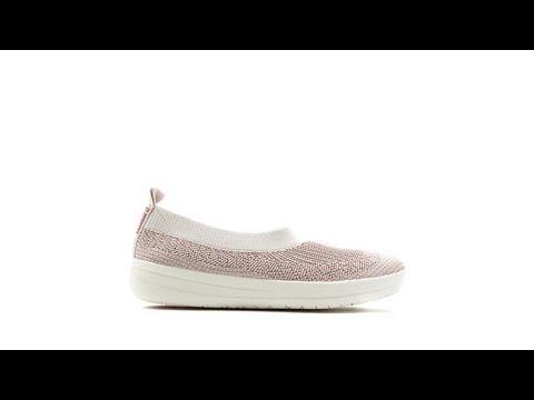 6f79abb2a FitFlop Uberknit SlipOn Ballet Sneaker - YouTube