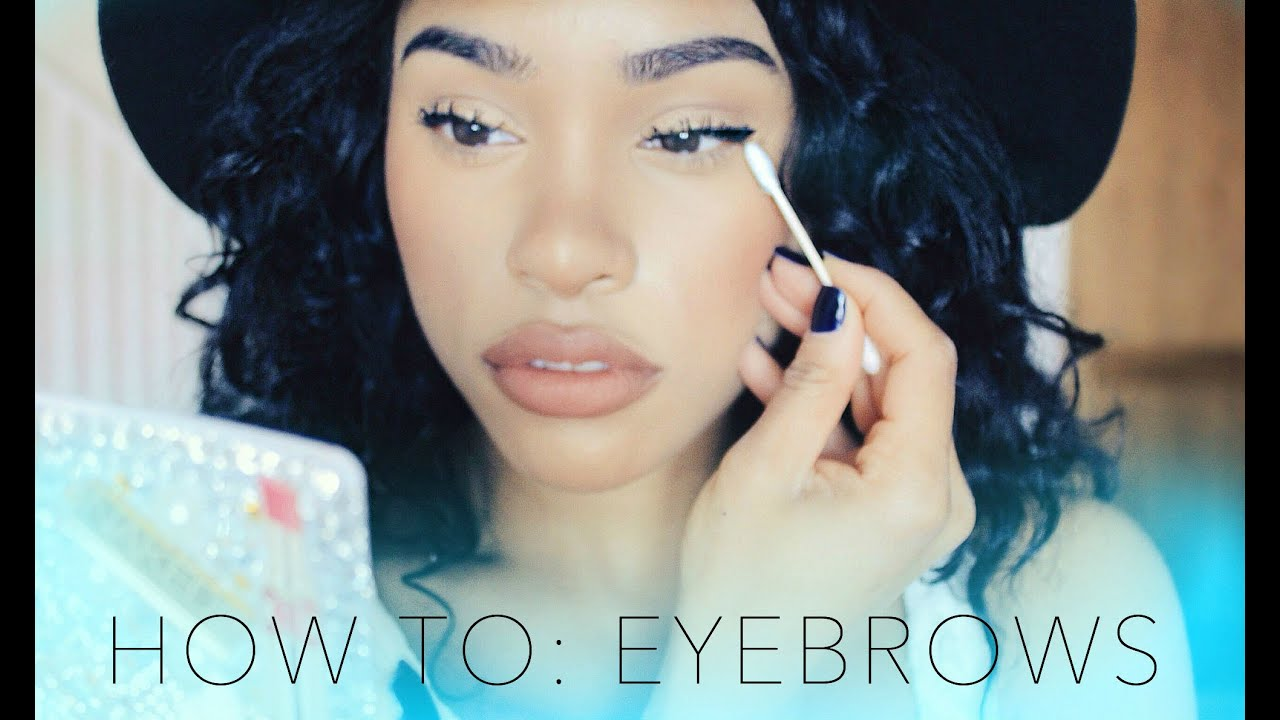 How To Shape Define Eyebrows Eyebrows On Fleek Youtube