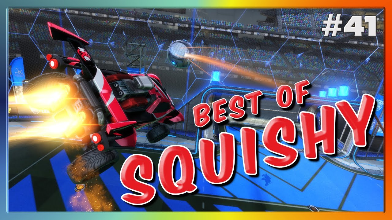 BEST OF NRG SQUISHY   DOUBLE TAPS, FLIP RESETS, AND MORE   HIGH LEVEL ROCKET LEAGUE #41