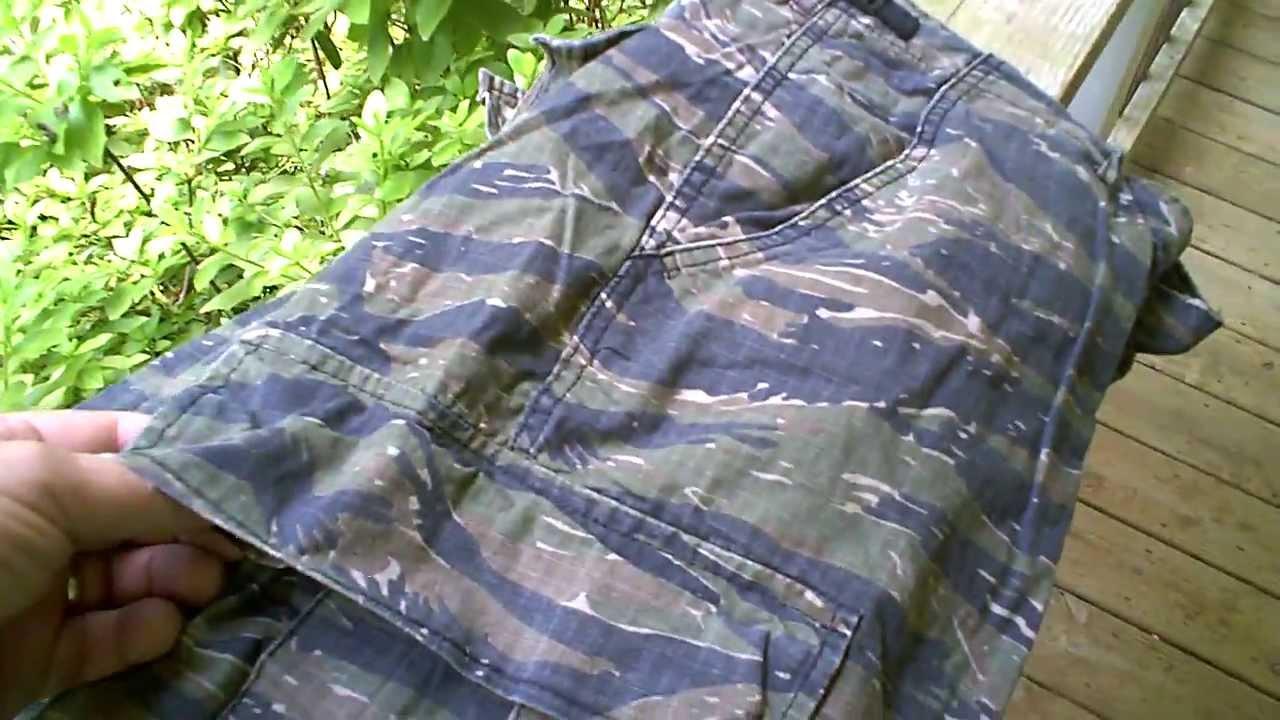 Rothco Quot Vintage Quot Quot Vietnam Quot Tiger Stripe Jungle Trousers