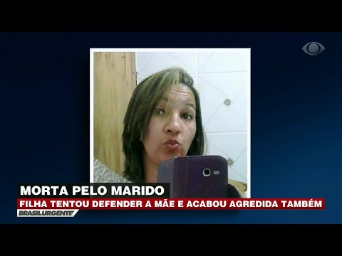 Homem mata esposa na frente da filha