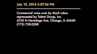 Blurb.com Voice Over by Mark Lukas