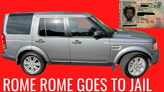 The KillSwitch Chronicles   Rome Rome Rome Goes to Jail  Stolen Car Recovered $6100 in Damages