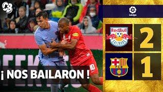 LAS PRUEBAS NO FUNCIONARON | NOS BAILARON BAJO LA LLUVIA | RB SALZBURG 2-1 FC BARCELONA  | OPINION