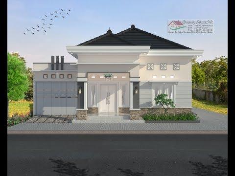 Modern House 8x15 3 K Tidur Desain Rumah Minimalis Lantai 1