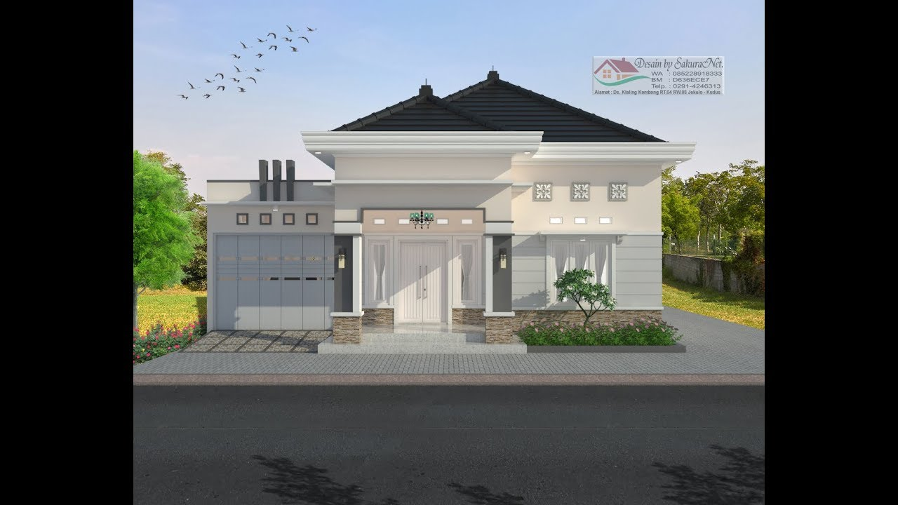 Modern House 8x15 3 K Tidur Desain Rumah Minimalis Lantai 1 Youtube