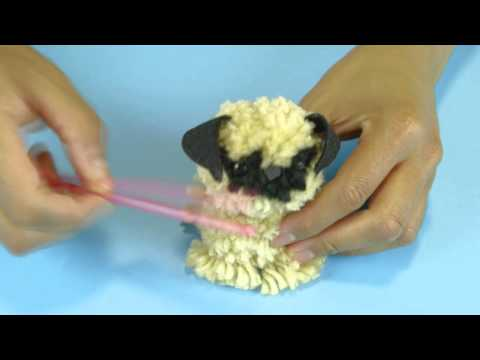 bommel pompon bobble diy pompom doovi. Black Bedroom Furniture Sets. Home Design Ideas