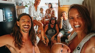 TINY HOUSE: A DAY IN THE LIFE (w van life friends)
