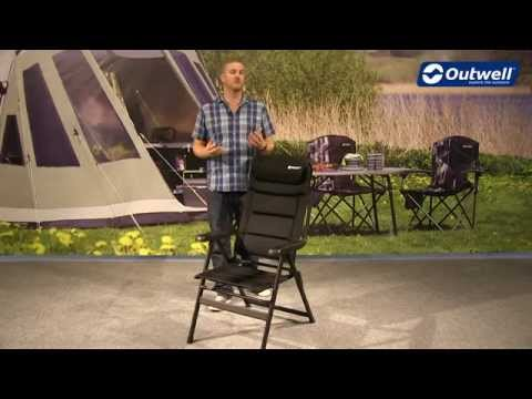 Outwell Teton Camping Chair | Innovative Family Camping