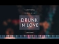 How to Play The Weeknd x Beyonce - Drunk In Love   Theory Notes Piano Tutorial