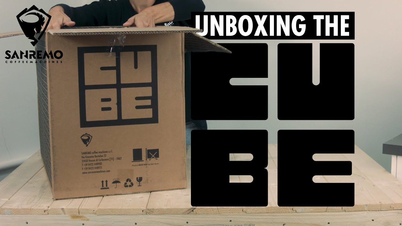 Unboxing the Sanremo Cube Coffee Machine   ASMR