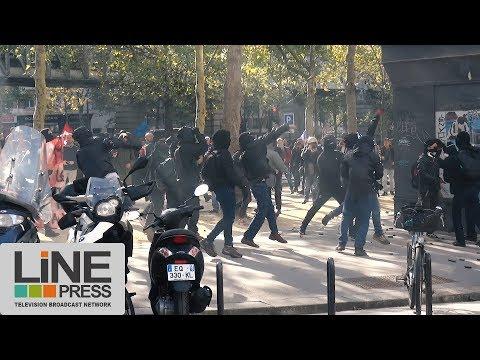 Manifestation anti-loi Travail. Incidents / Paris - France 21 septembre 2017