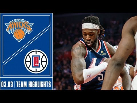 Clippers vs. Knicks Game Highlights | 3/3