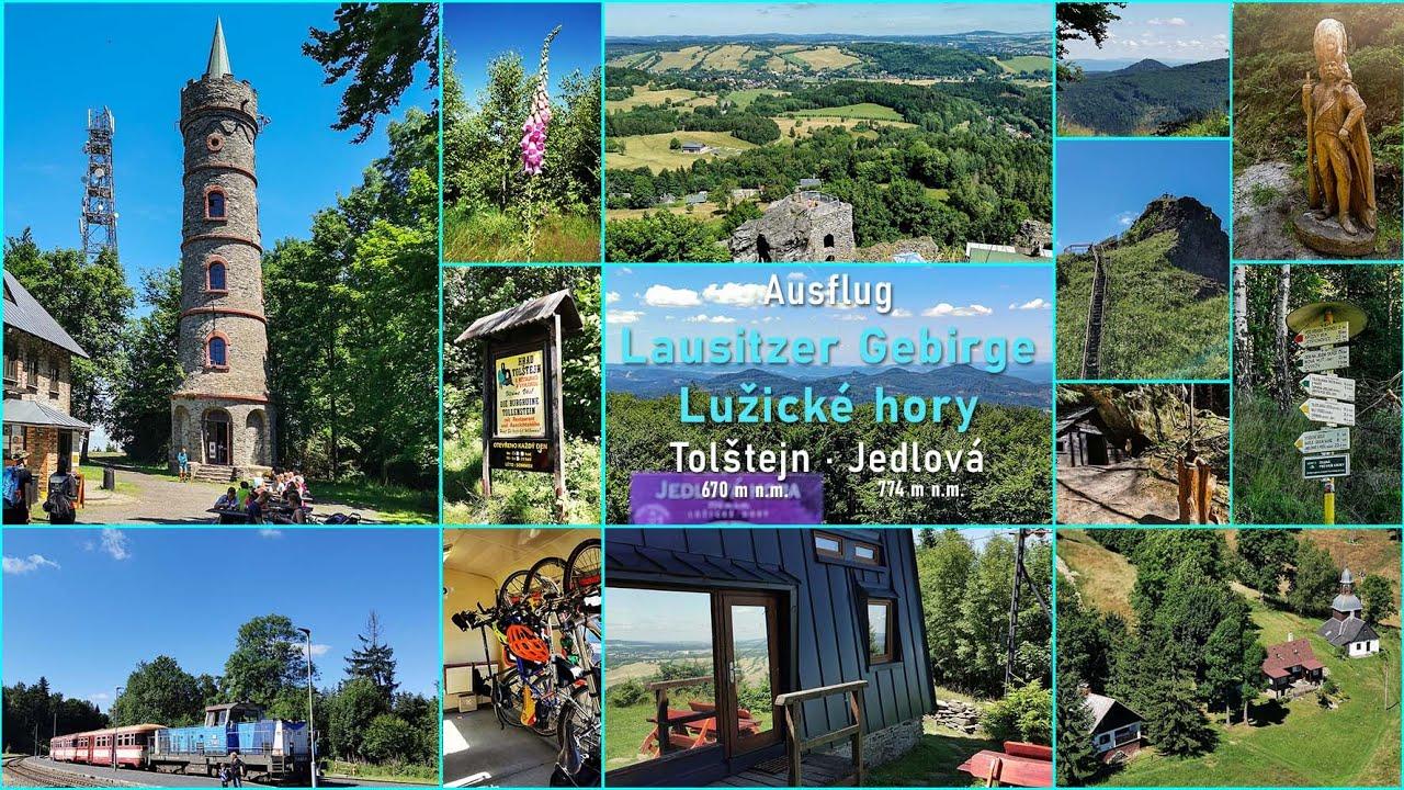 Besuch im tschechischen Teil des Lausitzer Gebirges - Lužické hory
