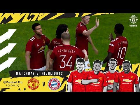 Highlights | Manchester United v Bayern Munich | eFootball.Pro Matchday 8 | PES 2021 | eSports