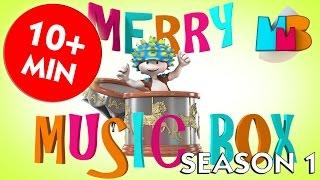 All SEASON 1 KIDS SONGS | Nursery Rhymes from Merry Music Box