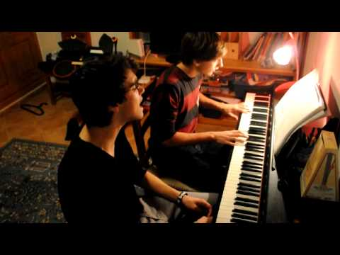 Augustana - Boston (piano voice cover)