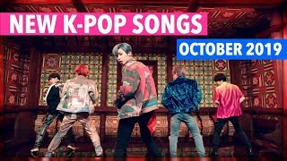 NEW K-POP SONGS | OCTOBER 2019 (WEEK 1)