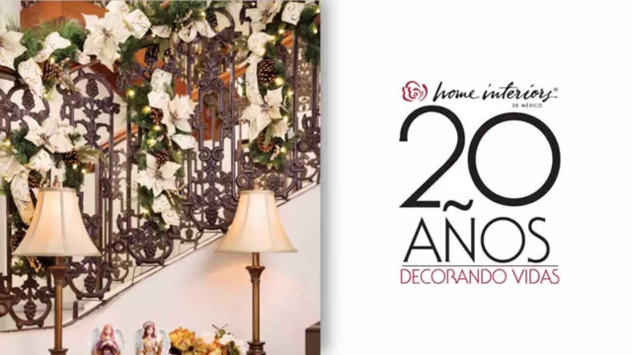 Decoraci n de escaleras navide as navidad alrededor del for Decoracion del hogar pdf
