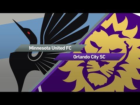 Highlights: Minnesota United FC vs. Orlando City SC   May 27, 2017